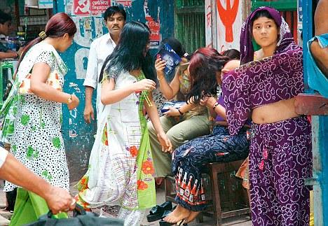 Prostitutes in Asansol, West Bengal