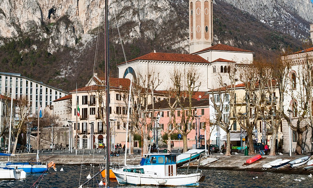 Girls in Lecco, Italy