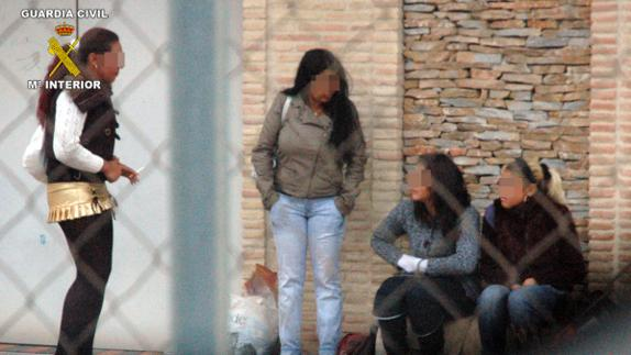 Skank in Caravaca, Spain