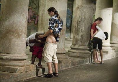 Melilla, Spain skank