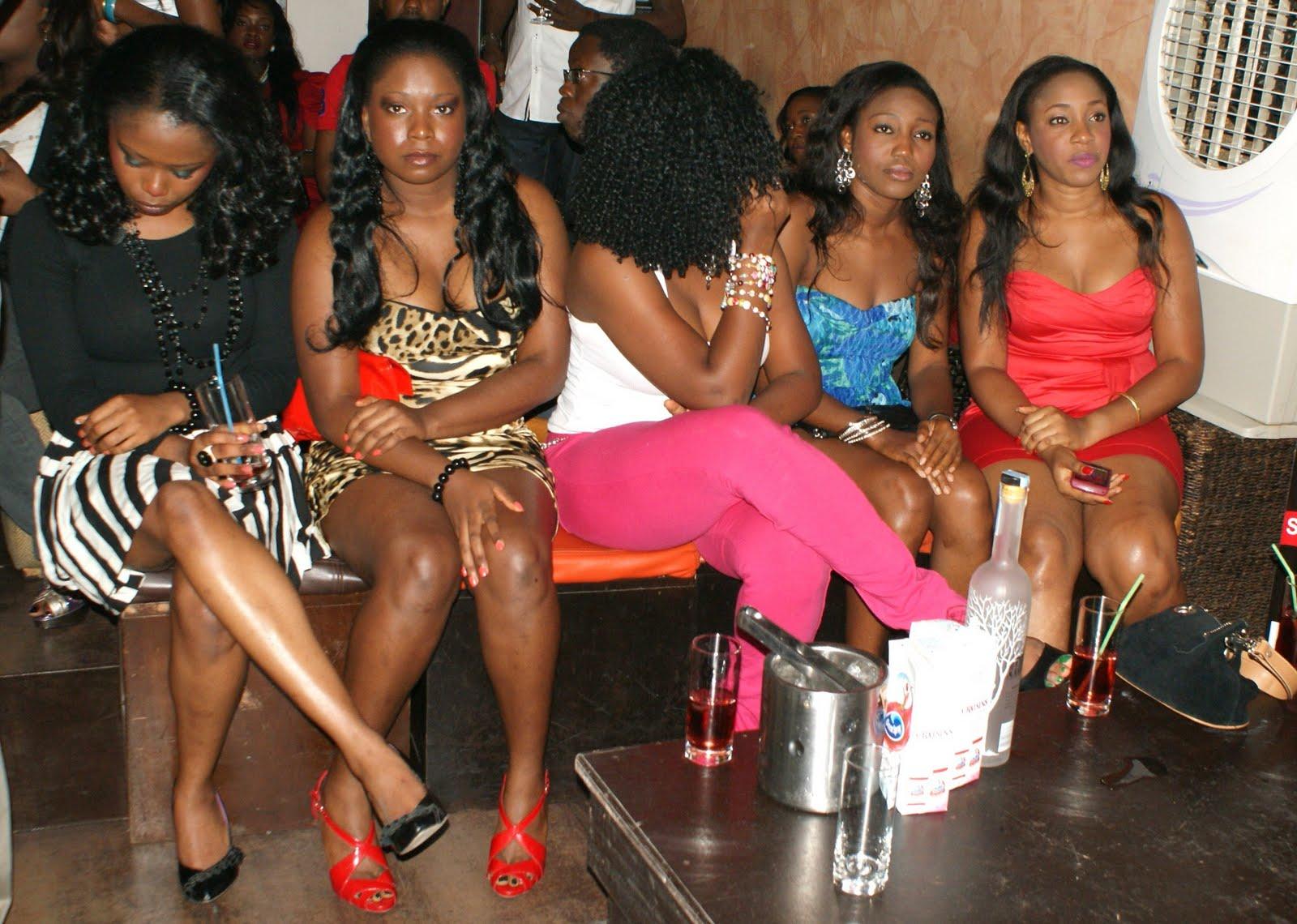Girls in Onitsha, Nigeria