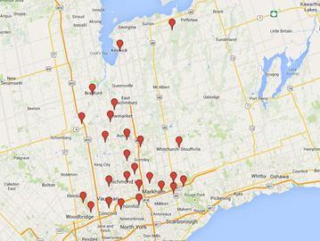 Telephones of Prostitutes in Miramichi, New Brunswick