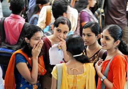Girls in Muvattupuzha, Kerala