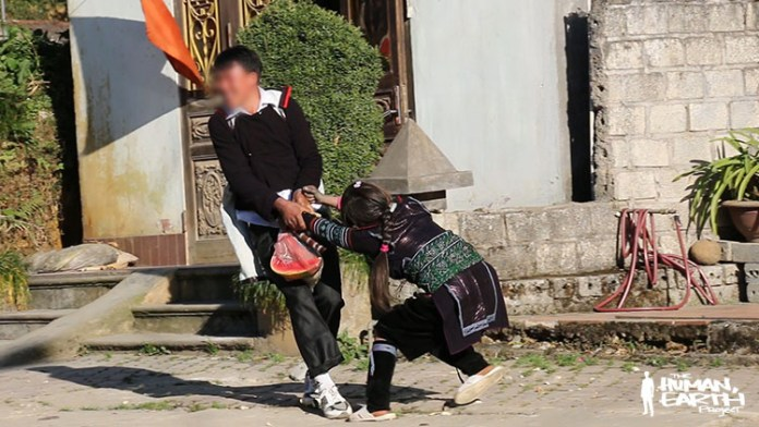 Prostitutes in Qujing, China