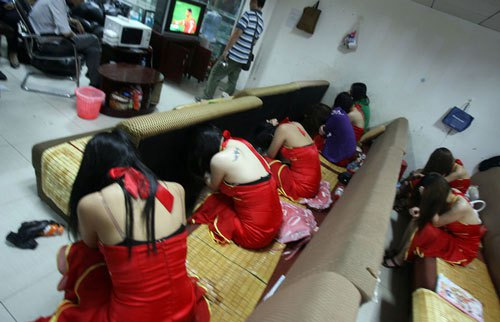 Telephones of Prostitutes in Qujing, Yunnan
