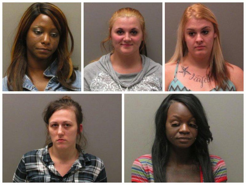 Girls in Holly Springs, North Carolina