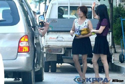 Whores in Hyesan, North Korea